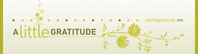 A Little Gratitude