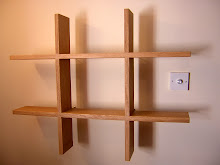 floating study shelves