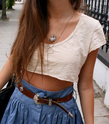 Look of the Day.6: CROPPED TOP