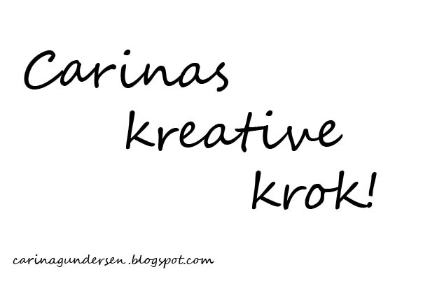 Carinas kreative blogg!