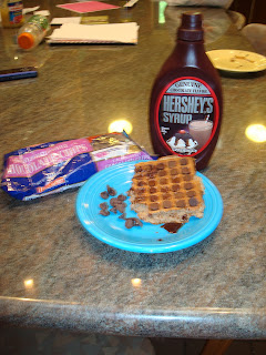 The Hershey's syrup was Big Pain's idea.