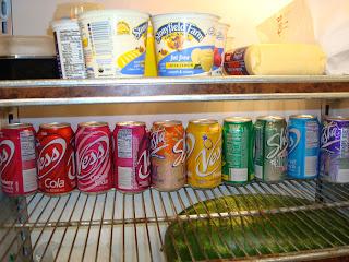 Mmmmmmm. Rainbow sodas.