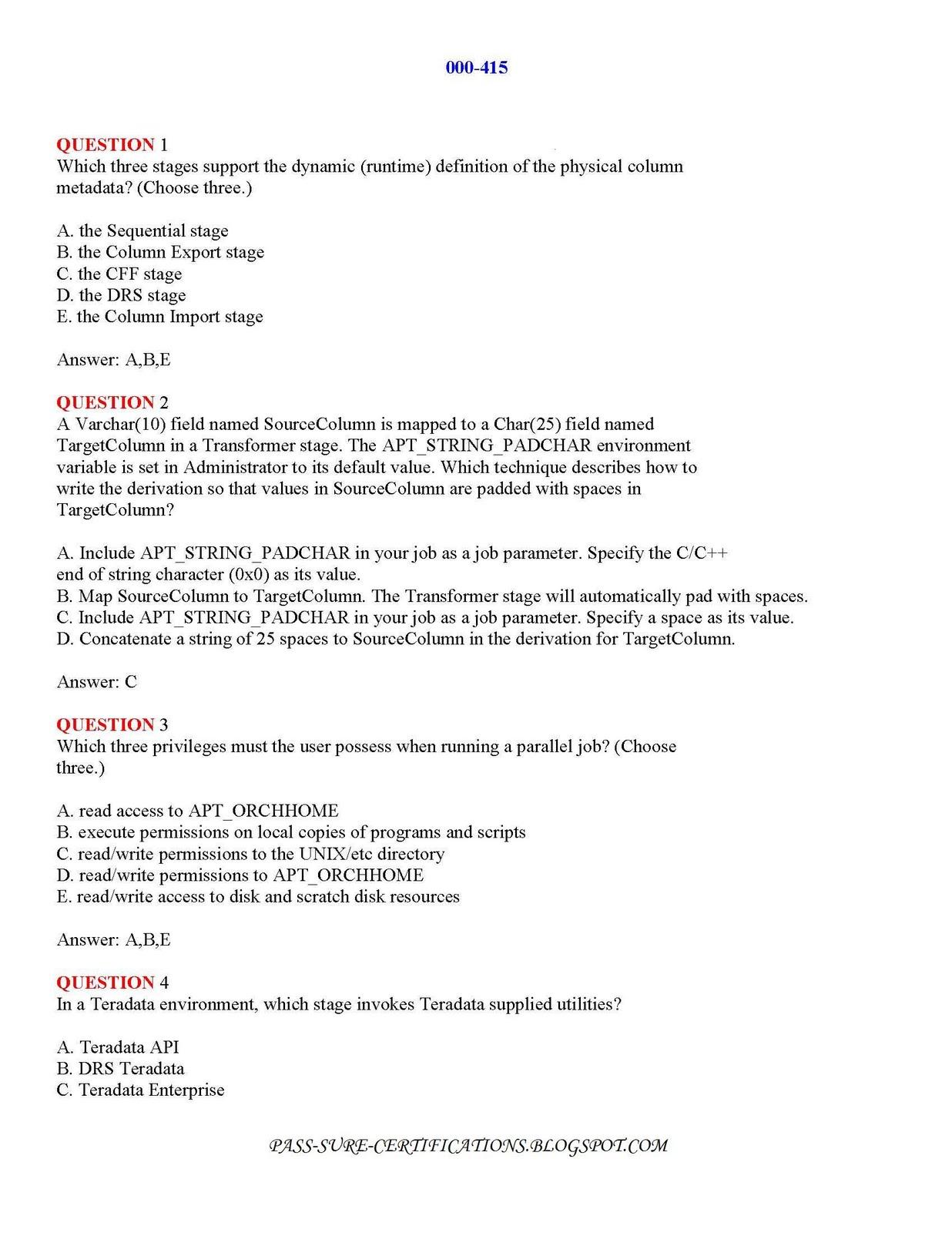 Datastage Tutorialguides And Training Datastage Certifications