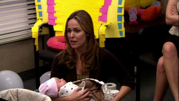 what u0026 39 s alan watching   the office   u0026quot baby shower u0026quot   daughter of a paper woman