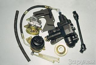 b Гидроусилитель руля /b для ВАЗ 2107 шлак.