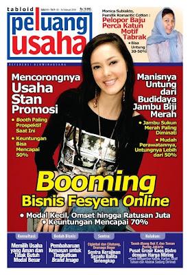 Tabloid Peluang Usaha Majalah Bisnis Edisi Terbaru