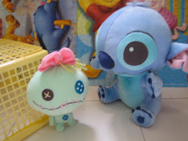 Catch! Stitch & Scrump shall never be apart..