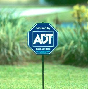 ADT Yard Signs: The Poor Man's Security System