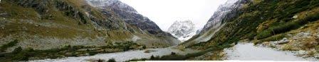 Mont Collon et Moraine du Glacier d'Arolla