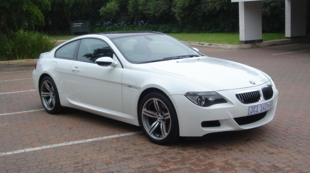 2007 white Bmw M6 picture