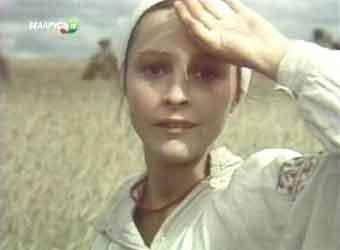 Актриса Елена Борзова, главная роль Ганны