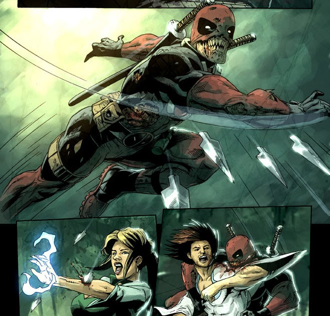 Deadpool in New Marvel Zombies Series   Deadpool Bugle
