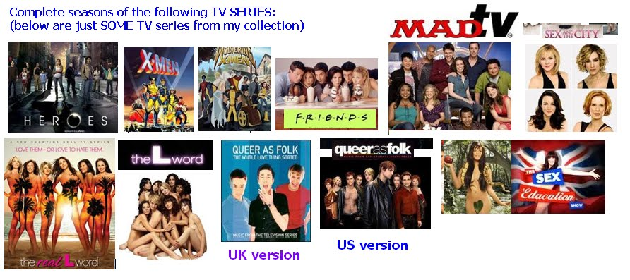 You can also get TV series such as the ones below: ~~~~~~~ If you want CLIPS ...