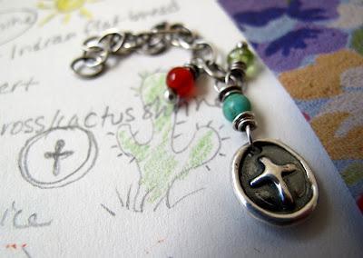 silver cross charm jewelry catholic