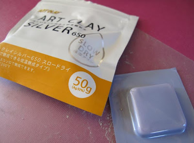 Dry Clay Art Art Clay Silver 650 Slow Dry
