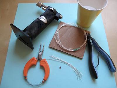 setup tools making silver headpins