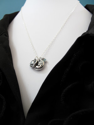 silver friendship charm necklace hint jewelry