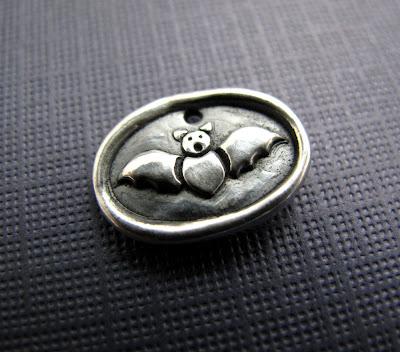 silver bat batgirl batman charm jewelry bracelet