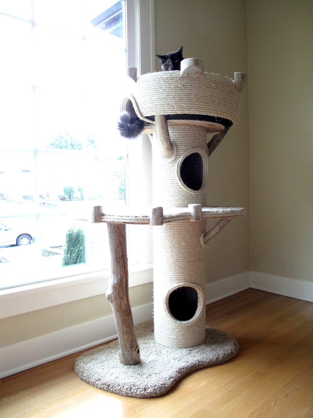 ... Plans together with Greenhouse Outline. on cat tree house plans free