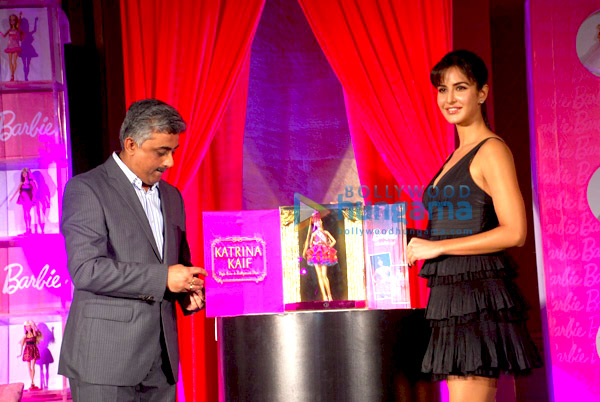 Katrina Kaif unveils new Barbie Doll