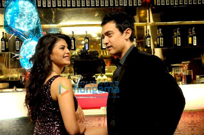Aamir Khan and Jacqueline Fernandes at the latest Titan Watches ad shoot