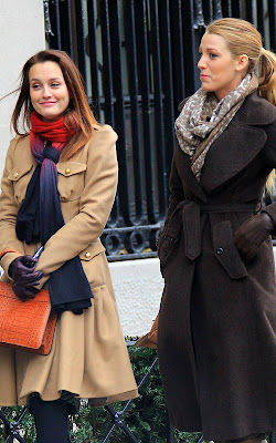 Leighton Meester And Blake Lively Set of