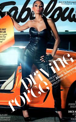 Nicole Scherzinger UK Fabulous Magazine Pics