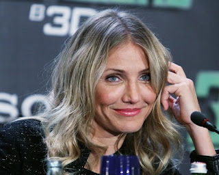 Cameron Diaz promoting