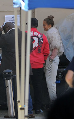 Jennifer Lopez on-hand for