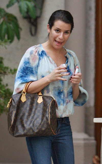 Lea Michele out in LA