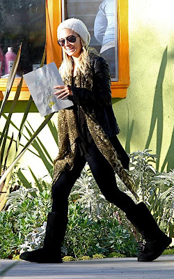 Nicole Richie spotted out for the first time since marrying Joel Madden
