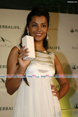 Mugdha Godse at The Launch of Herbalife
