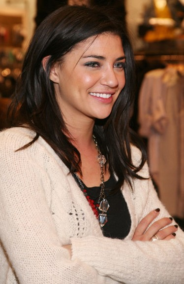 Jessica Szohr at the new TOMMY By Tommy Hilfiger Store