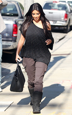 Kim Kardashian out in Culver City