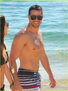 Jesse Metcalfe and Cara Santana Bikini Photos