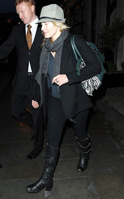 Kate Winslet out in London Pics