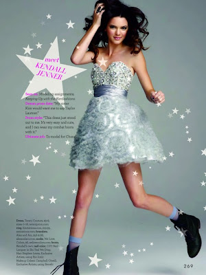 Kendall Jenner TeenPROM Magazine 2011 Photos