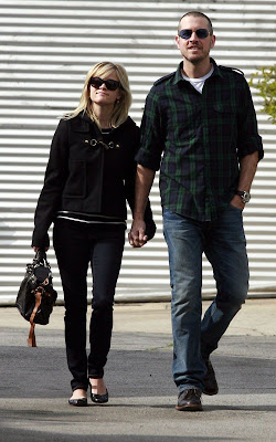 Reese Witherspoon and her fiance Jim Toth spotted out after church in Los Angeles