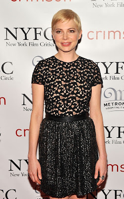 Michelle Williams at the 2010 New York Film Critics Circle Awards