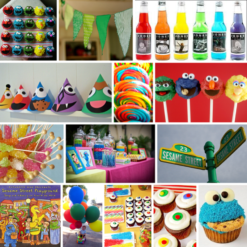 Outstanding Sesame Street Theme Birthday Party Ideas 799 x 799 · 1132 kB · png