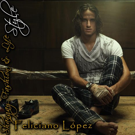 Long Hairstyles Feliciano Lopez