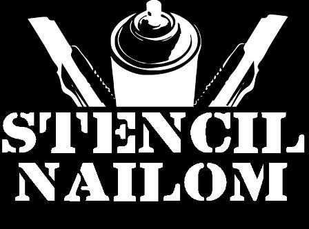 STENCIL NAILOM