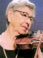 Violinista Edna Nogueira Morais Silveira, cidadã benemérita de Araraquara