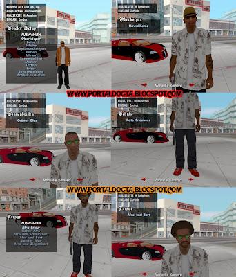 Cleo3 Clothes Mod - PORTAL GO GTA