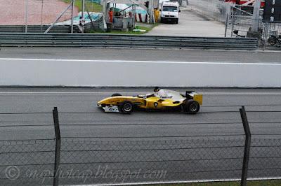 A1GP race Malaysia Team car