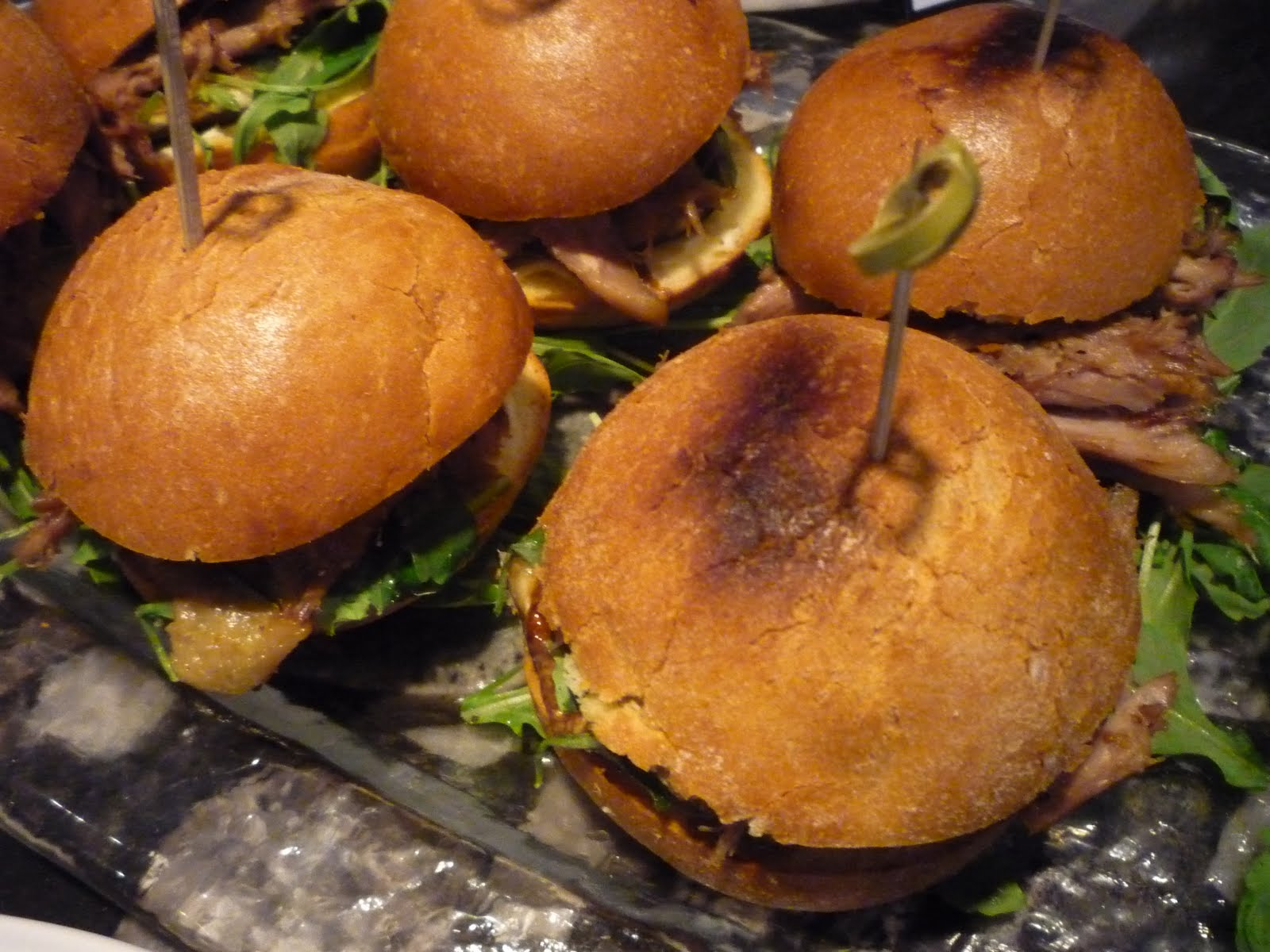 Duck Sliders With Fig Ketchup Recipe — Dishmaps
