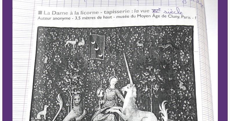 L 39 chapp e belle la dame la licorne - Tapisserie dame a la licorne ...