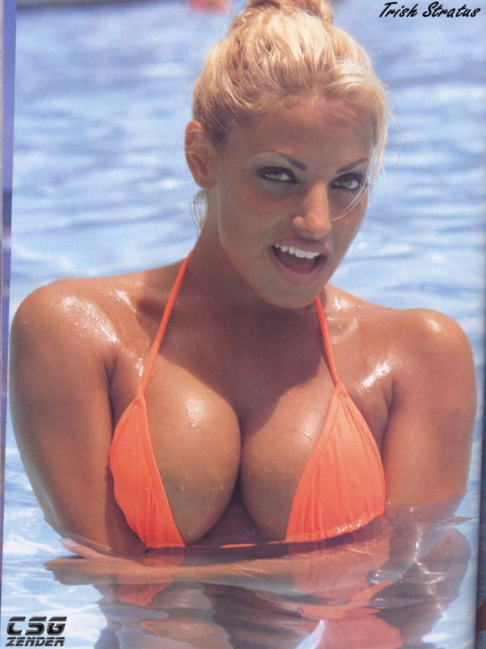 trish stratus in bikini