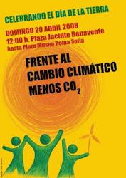 2008: Frente al cambio climático, menos CO2