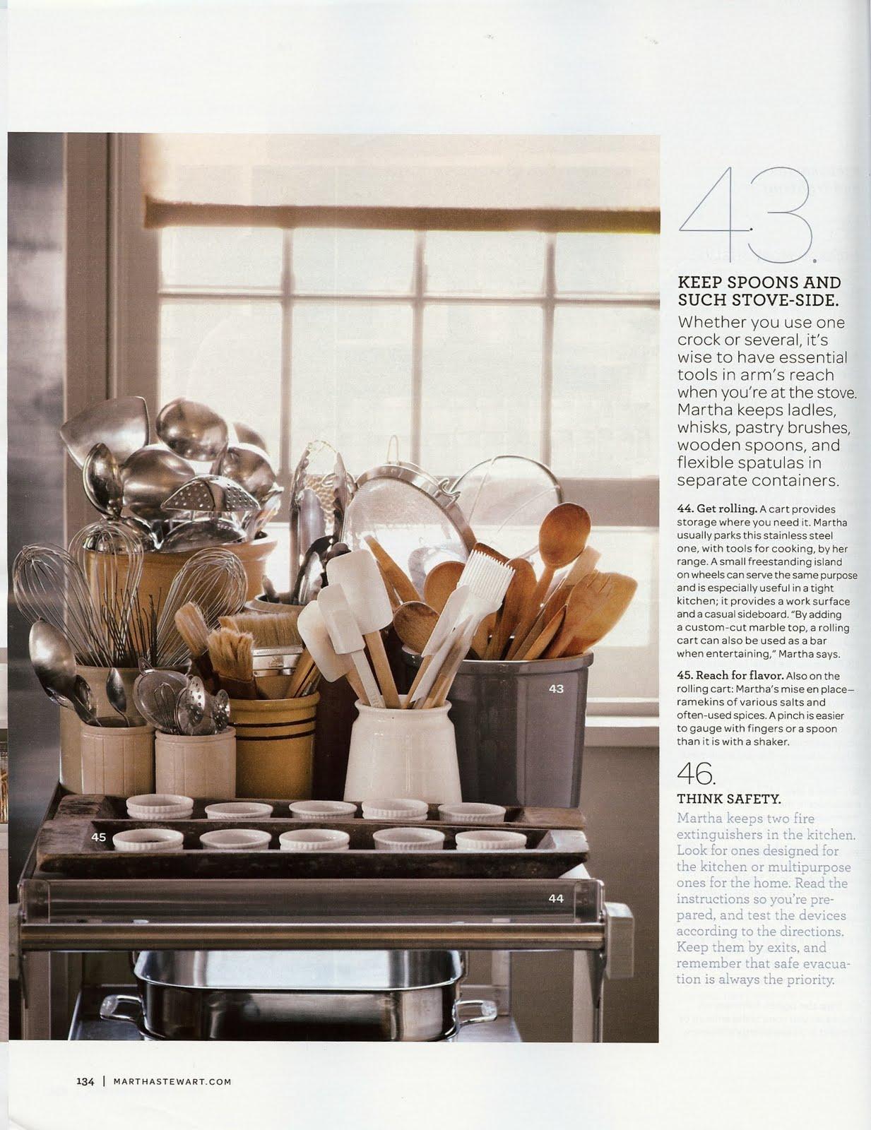 circa martha stewart u0027s 50 top kitchen tips